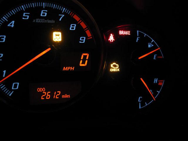 Scion Xa Check Engine Light